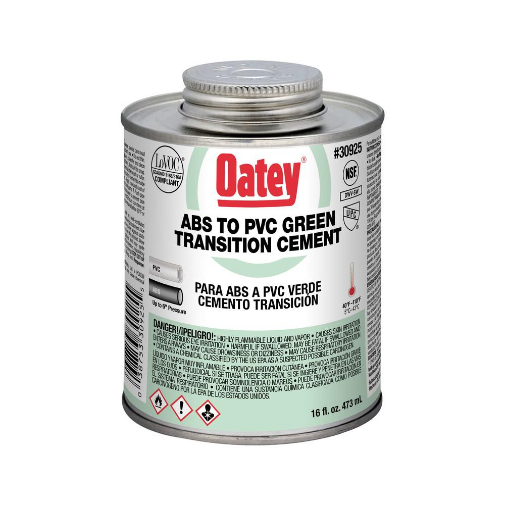 Oatey 16 oz. ABS Transition Cement