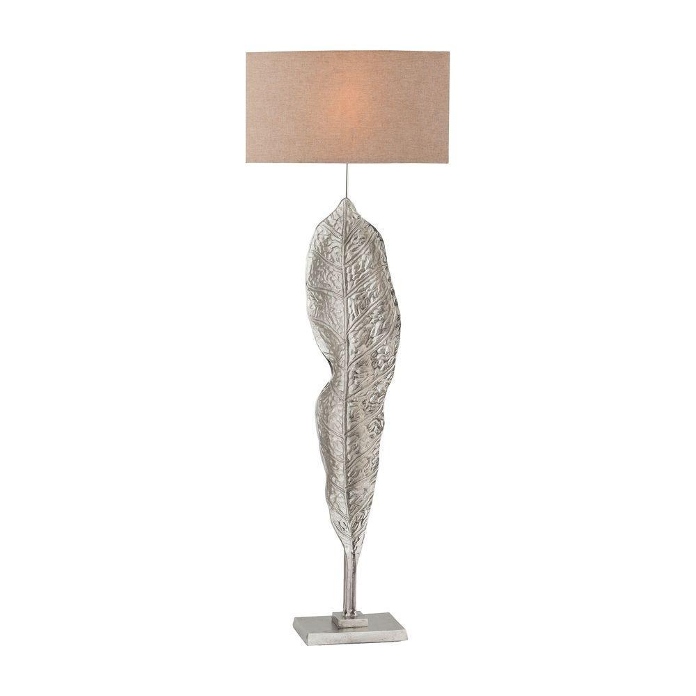 Katerini 63 in. Nickel Floor Lamp