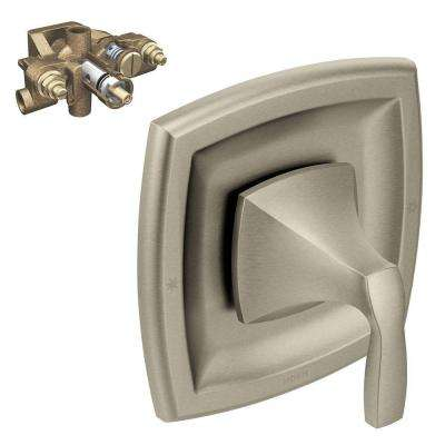 Voss 1-Handle Moentrol Valve Trim Kit in with Valve Brushed Nickel