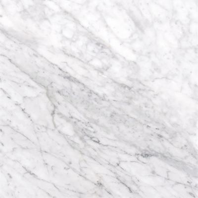 Carrara White 12 in. x 12 in. Polished Marble Floor and Wall Tile (10 sq. ft. / case)
