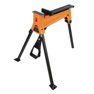3.22 ft. x 2.83 ft. x 2.89 ft. Steel Work Platform 400.925 lbs. Capacity