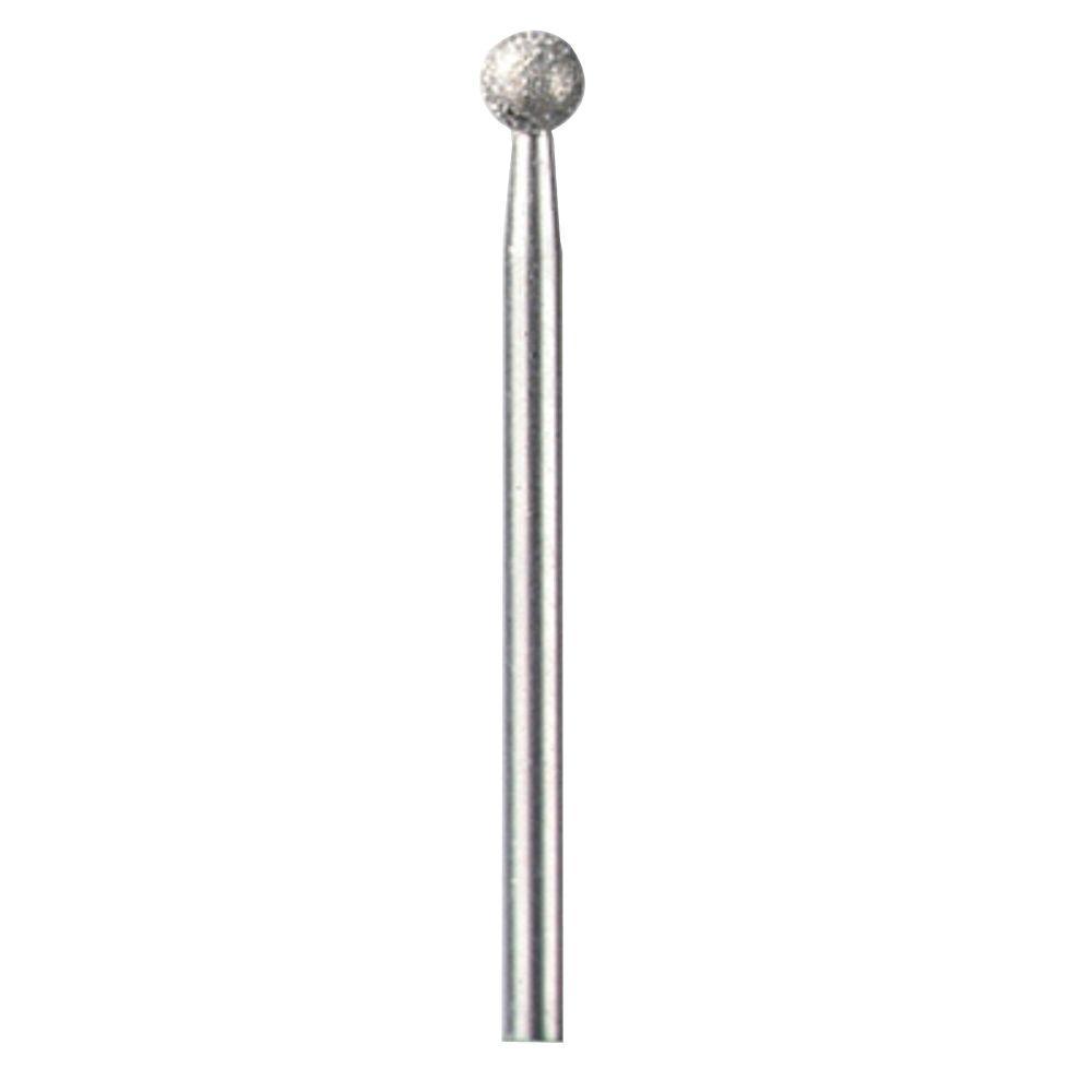 11/64 in. Diamond Wheel Ball Point Rotary Bit for Wood, Jade,