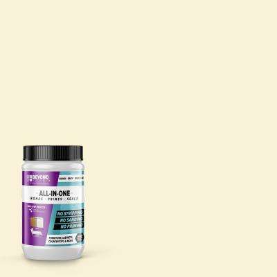 1 qt. Off White Furniture, Cabinets, Countertops and More Multi-Surface All-in-One Interior/Exterior Refinishing Paint