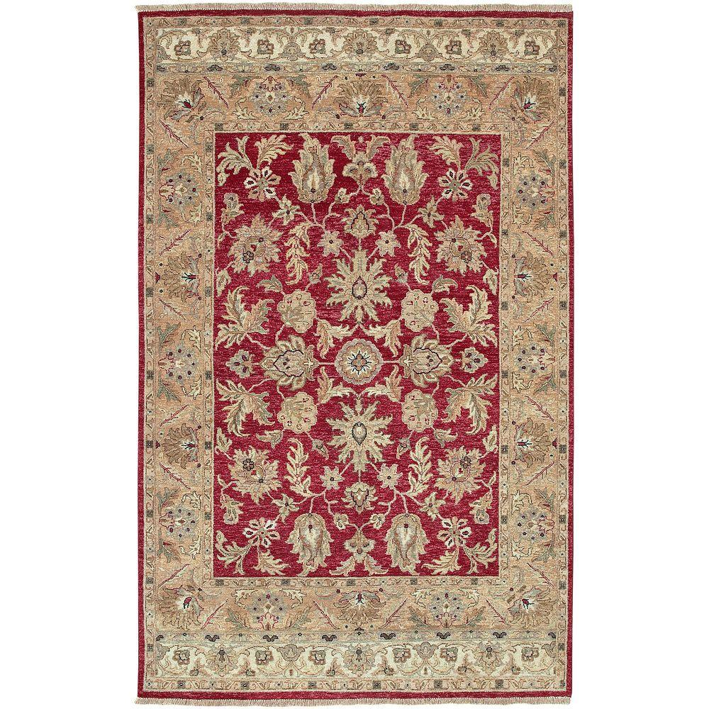 Artistic Weavers Tatoi Red 8 ft. x 11 ft. Area Rug
