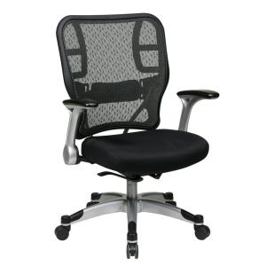 Deluxe Black SpaceGrid Office Chair