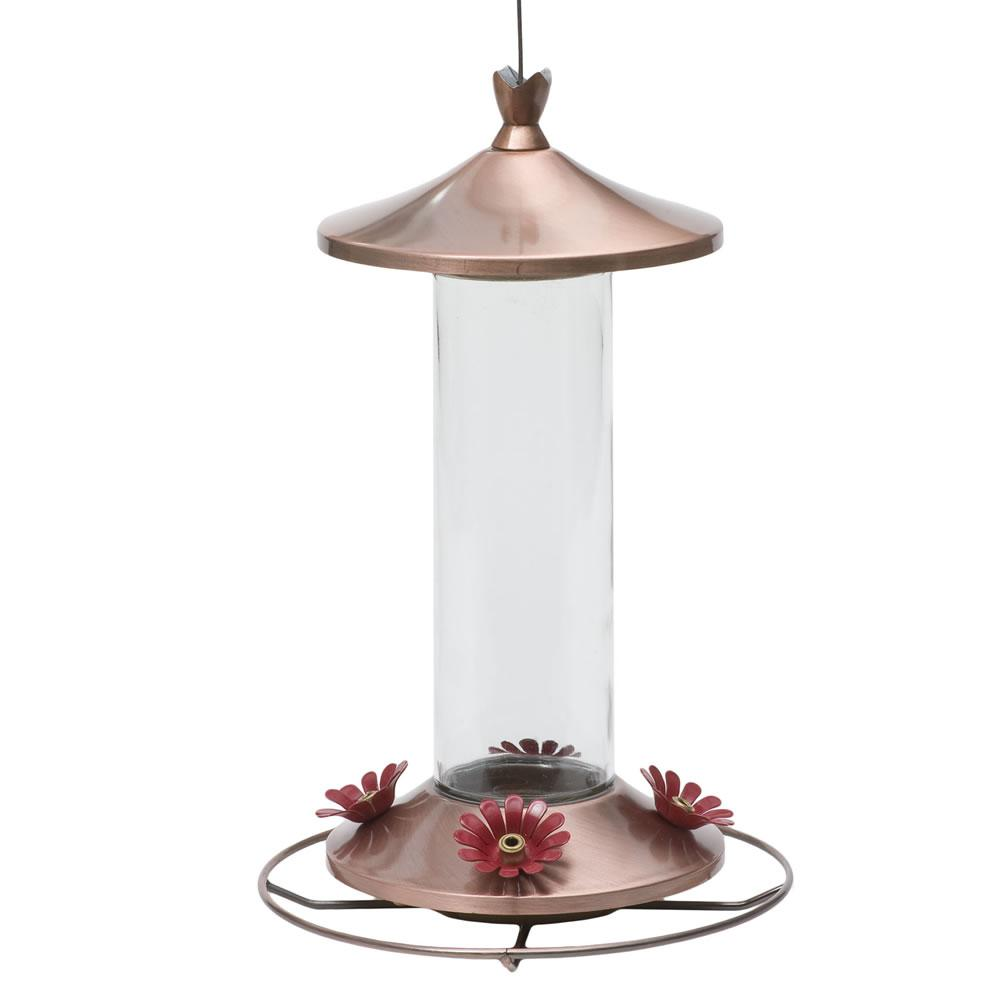 12 oz. Elegant Copper Hummingbird Feeder