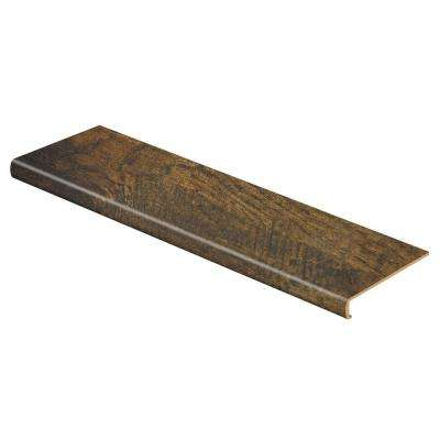 Tanned Hickory 47 in. Length x 12-1/8 in. Deep x 2-3/16 in. Height Laminate to Cover Stairs 1-1/8 in. to 1-3/4 in. Thick