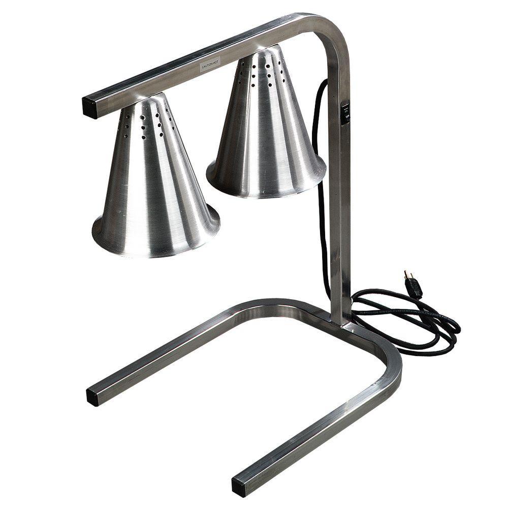 2 Bulb Heat Lamp Flare Shade