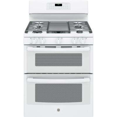 6 8 Cu Ft Double Oven Gas Range