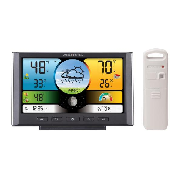 Weather Forecaster Wireless Digital Color Display