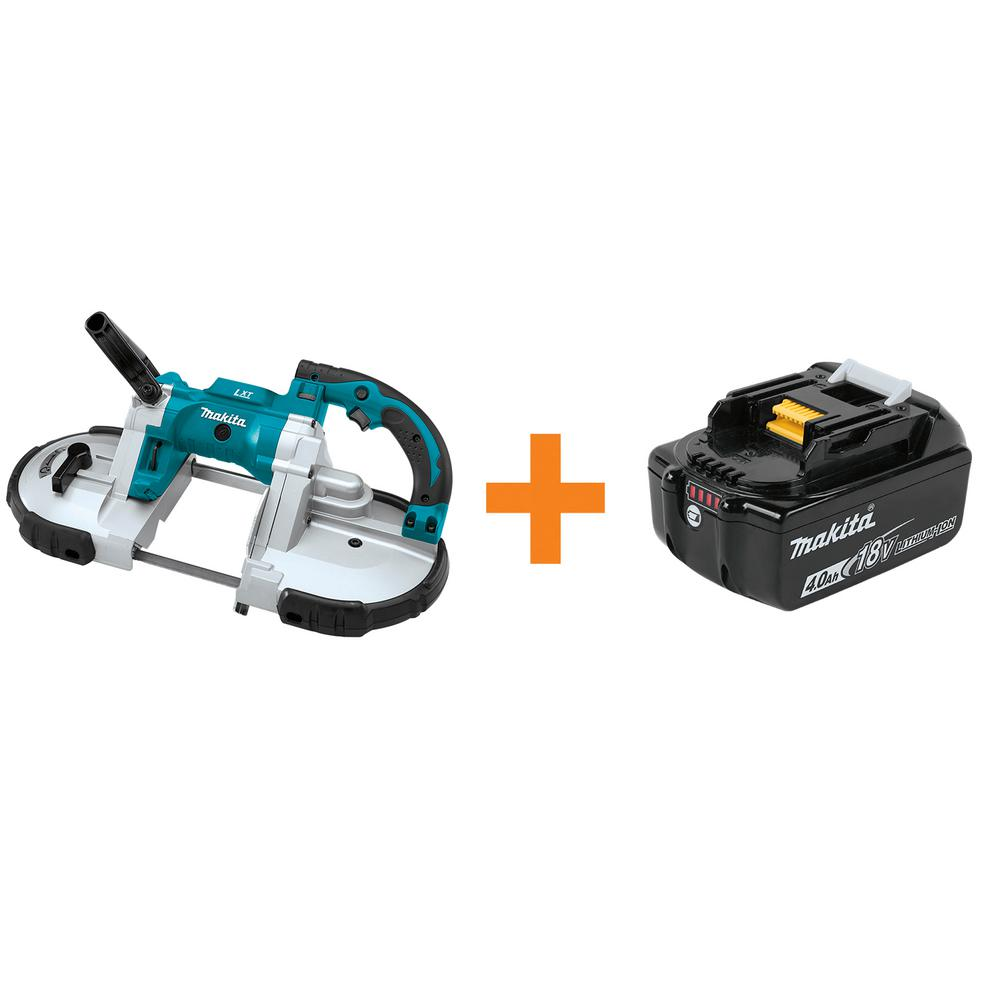 18-Volt LXT Lithium-Ion Cordless Portable Band Saw (Tool-Only) with Bonus 4.0