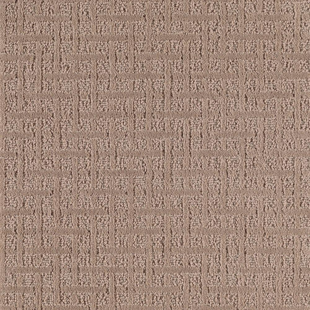 null Boost - Color Leather Bound Pattern 12 ft. Carpet