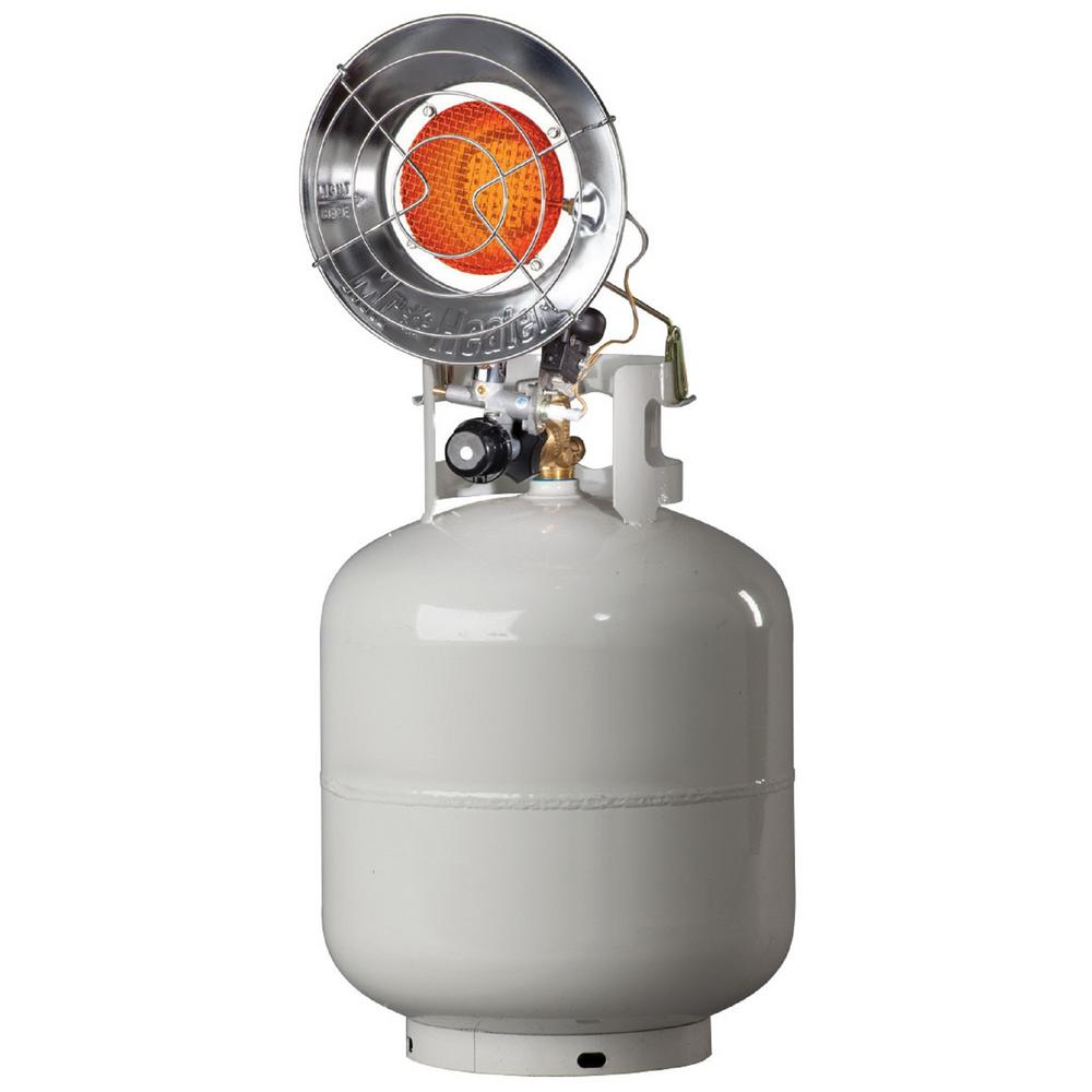 15,000 BTU Radiant Propane Single Tank Top Heater with Spark Ignition