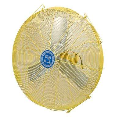 Safety Yellow Air Circulator