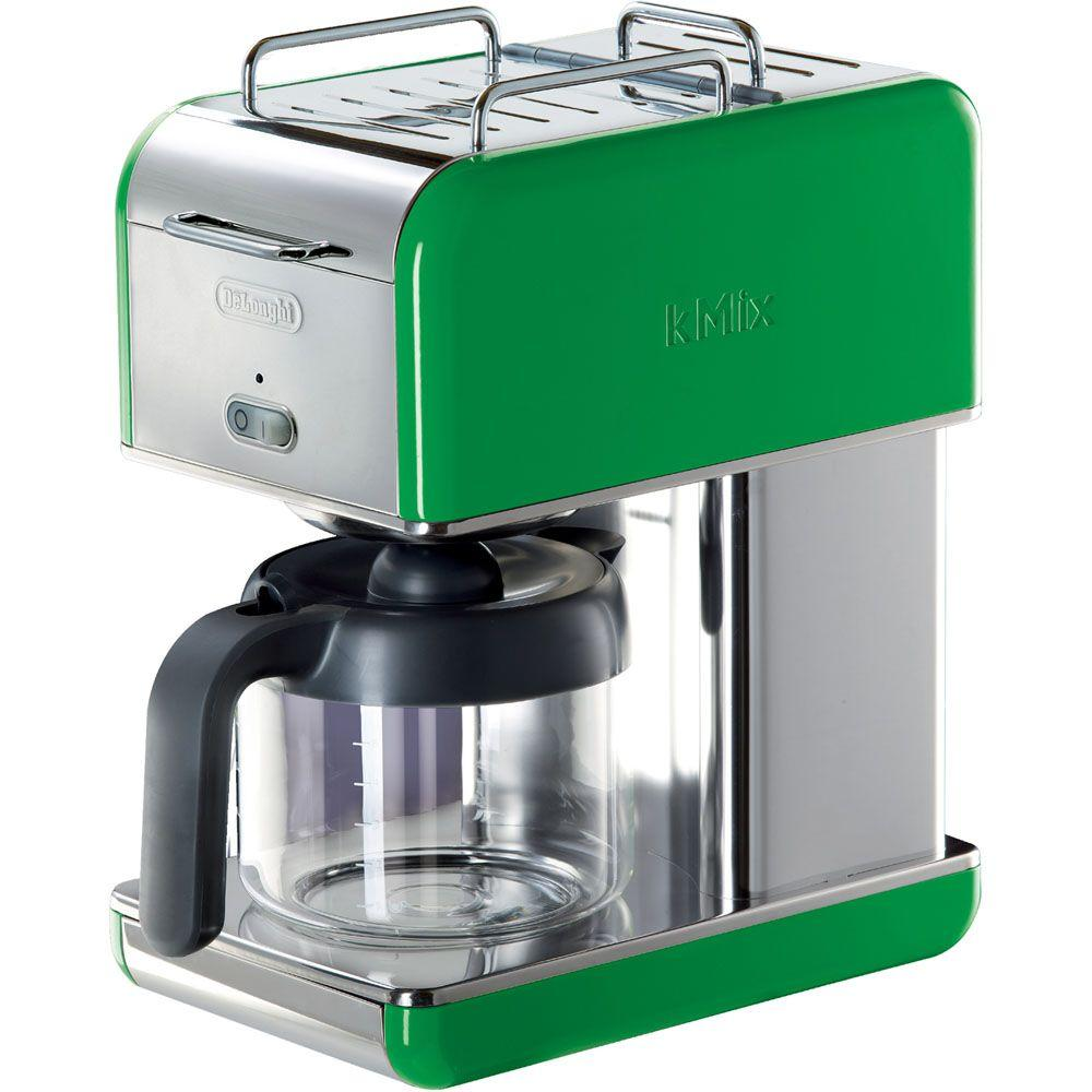 DeLonghi kMix 10-Cup Coffee Maker in Green