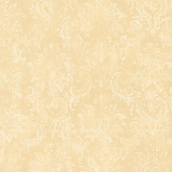 Norwall Canvas Damask Wallpaper MP18708