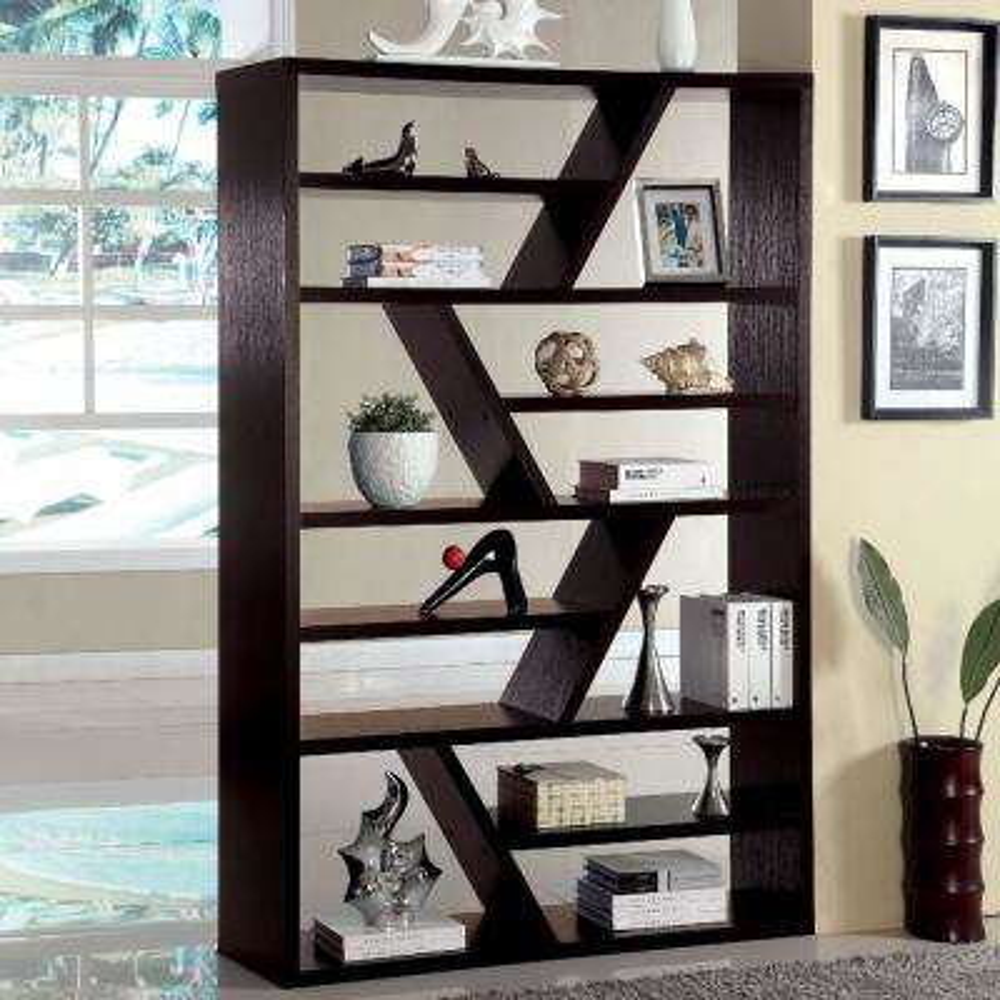 Kamloo Espresso Bookcase