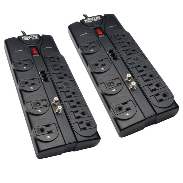 Protect It 12-Outlet Surge Protector 2-Pack