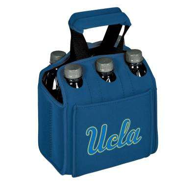 UCLA (University of California at Los Angeles) Bruins 6-Bottles Blue Beverage Carrier