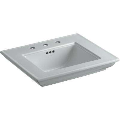 Memoirs Stately 24.5 in. Widespread Console Sink Basin inIce Grey
