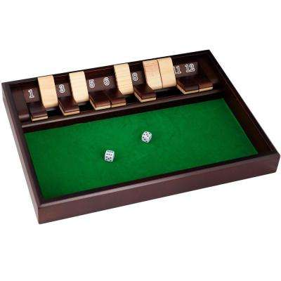 12 in. Shut the Box Game