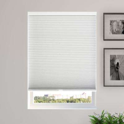Cut to Width Evening Mist (Blackout) Cordless Cellular Shade - 54 in. W x 48 in. L