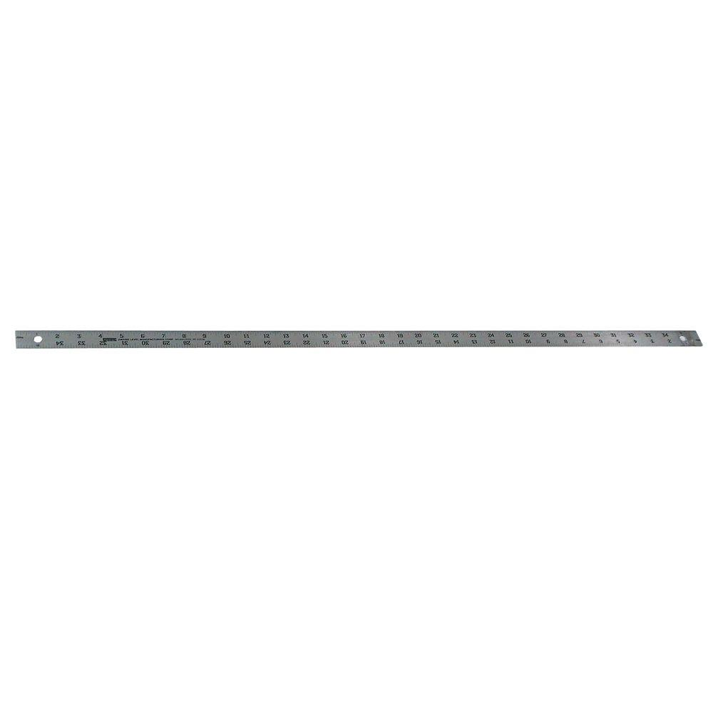 Empire 36 in. Aluminum Straight Edge Ruler