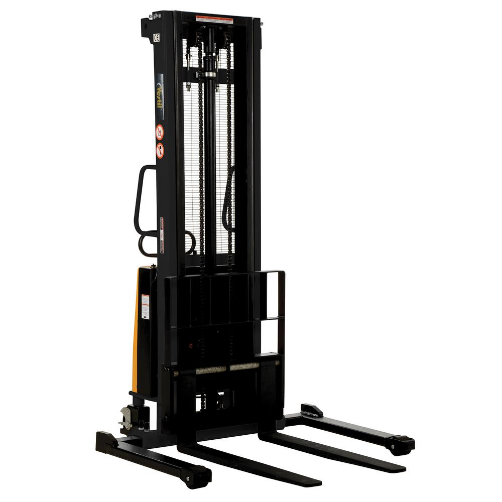 2,000 lb. Capacity 137 in. High Stacker with Powered Lift with