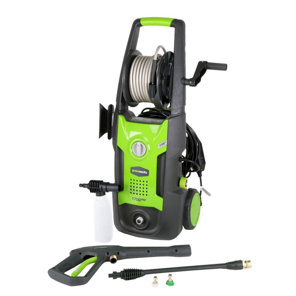 1700 PSI 1.2-GPM Electric Pressure Washer
