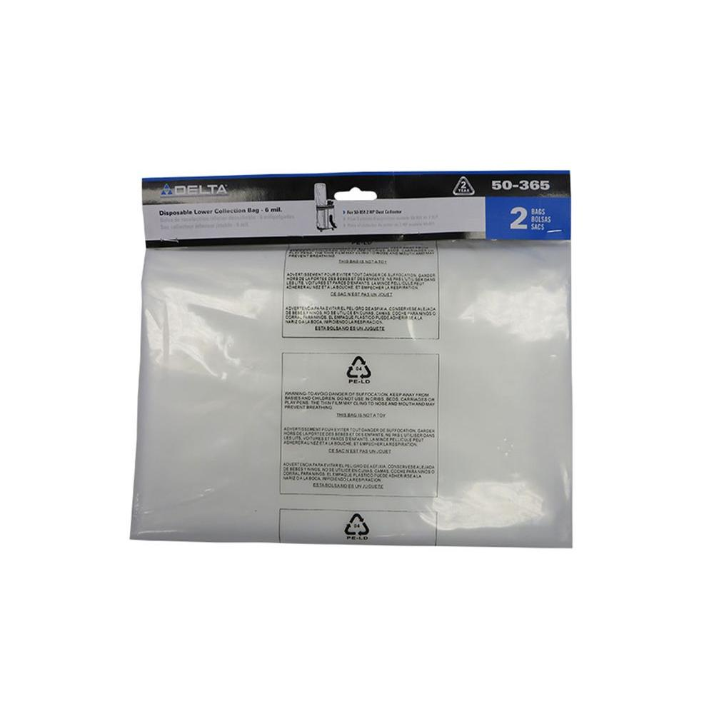 Delta Accessory Plastic Bag for Dust Collector