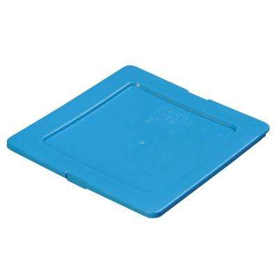 One Sixth Size Restaurant/Salad Bar Food Pans in Blue (Case of 6)