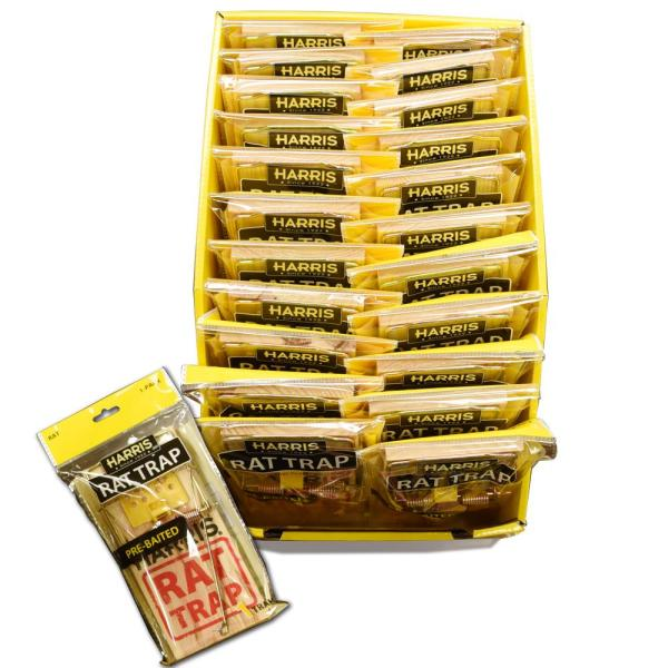 Rat Snap Trap (24-Pack)