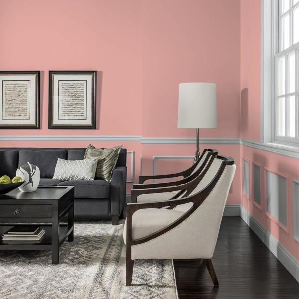 Reviews For Glidden Premium 1 Qt Ppg1057 4 Coral Cove Semi Gloss Interior Latex Paint Ppg1057 4p 04sg The Home Depot