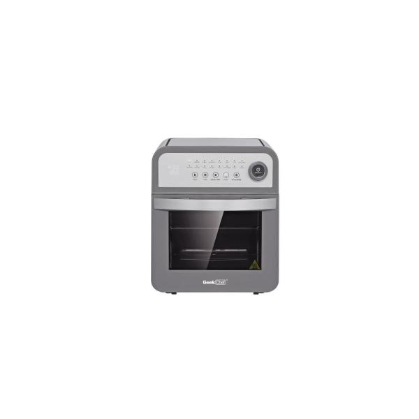 1600-Watts 12 Qt. Gray 16-Preset Modes All-in-One Multi-Function Air Fryer Oven with Rotisserie and Dehydrator