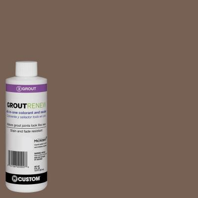 Polyblend #52 Tobacco Brown 8 fl. oz. Grout Renew Colorant