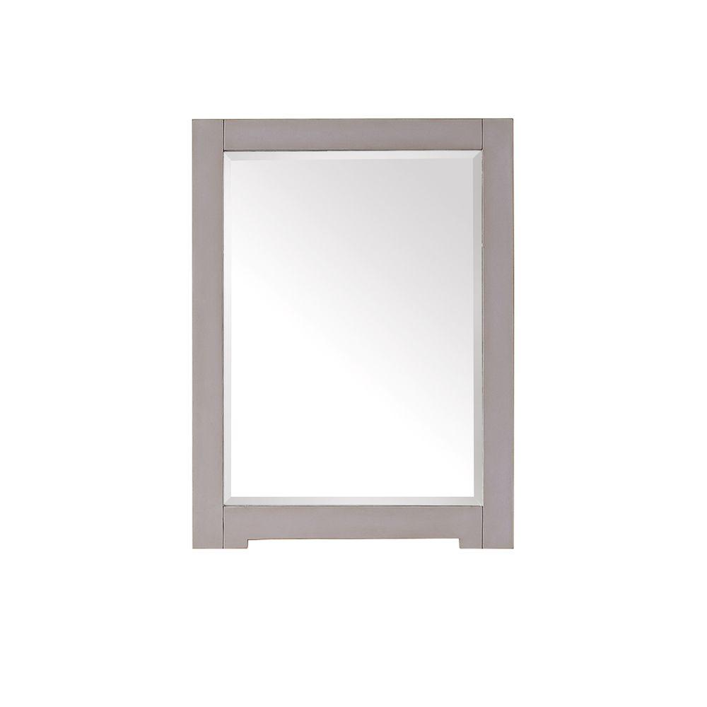 framed mirrors for bathroom vanities avanity 32 in l x 24 in w framed wall mirror in 23199