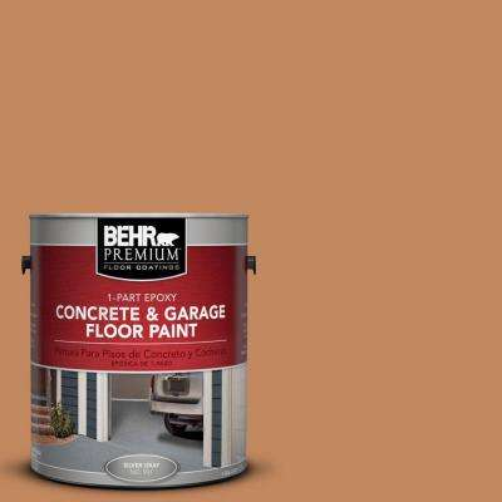 1-Gal. #PFC-17 Rusty Orange 1-Part Epoxy Concrete and Garage Floor Paint