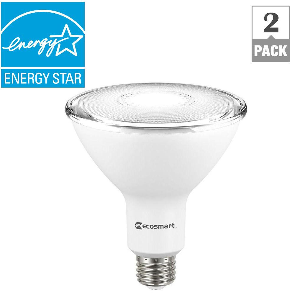 Ecosmart 90 watt equivalent par38 dimmable led flood light bulb ecosmart 90 watt equivalent par38 dimmable led flood light bulb bright white 2 aloadofball Images