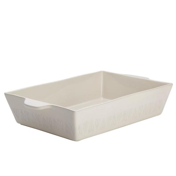 Ayesha Curry Home Collection 9 in. x 13 in. French Vanilla