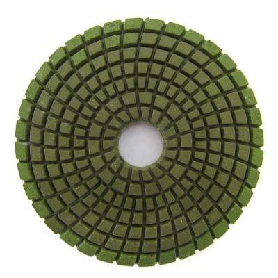 4 in. #3000 Grit Wet Diamond Polishing Pad for Stone