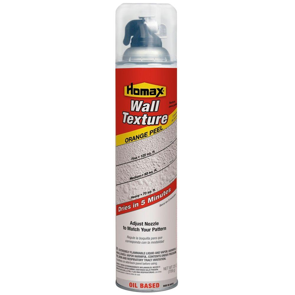 Homax 25 oz. Wall Orange Peel Quick Dry Pro Oil-Based Spray Texture