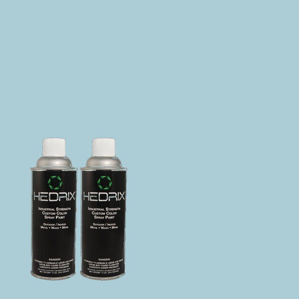 Hedrix 11 oz. Match of 2A46-3 Bellaire Star Low Lustre Custom Spray Paint (2-Pack)