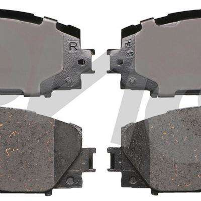 Front OE Disc Brake Pad Set fits 2010-2015 Toyota Prius