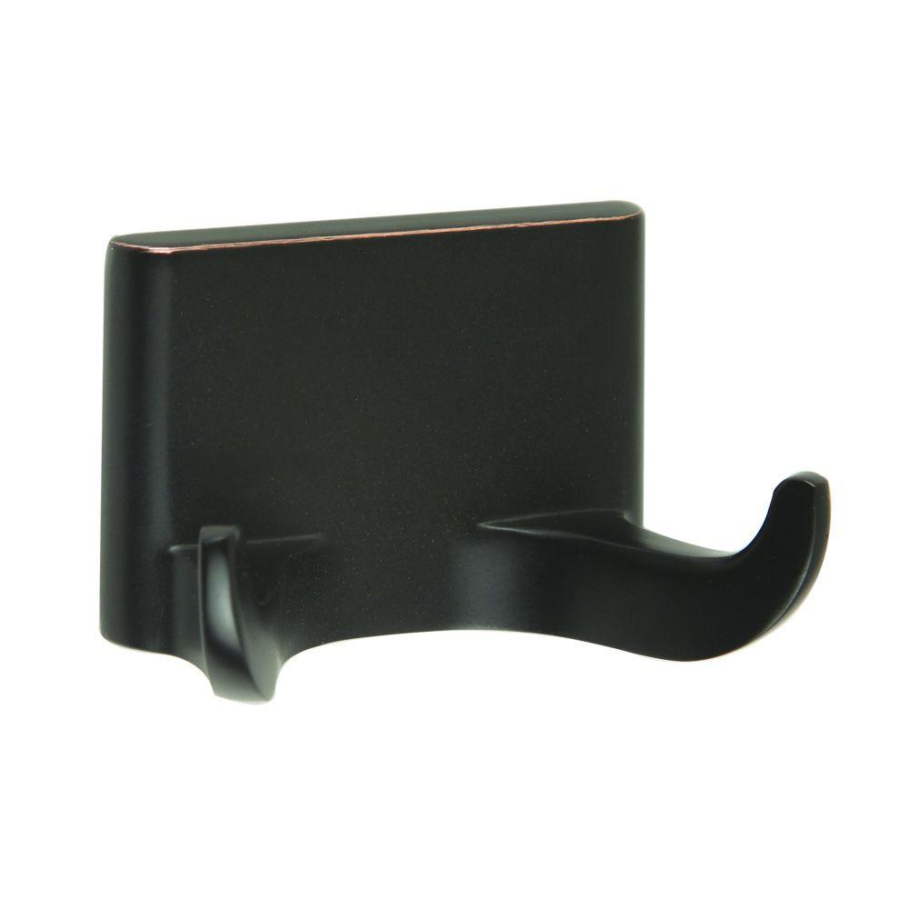 Millbridge Double Robe Hook in Oil Rubbed Bronze