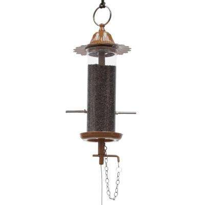 100 Series Copper Mini Finch Birdfeeder