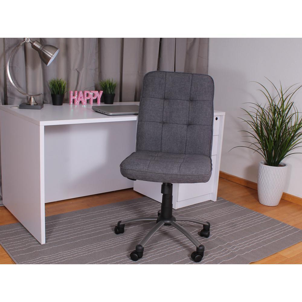 Slate Grey Modern Office Chair (PM)