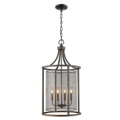 Verona 4-Light Oil Rubbed Bronze Chandelier