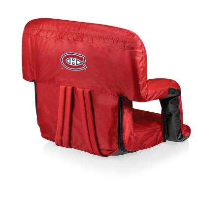 Montreal Canadiens Red Portable Reclining Stadium Seat