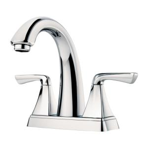 Selia 4 in. Centerset 2-Handle Bathroom Faucet in Polished Chrome