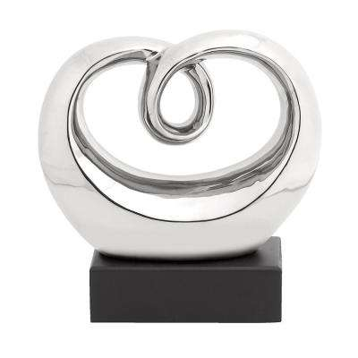 Perfect Polished Abstract Whirling Sculpture